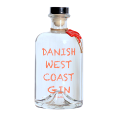 Danish West Coast Gin - Peach, 42%, 50cl